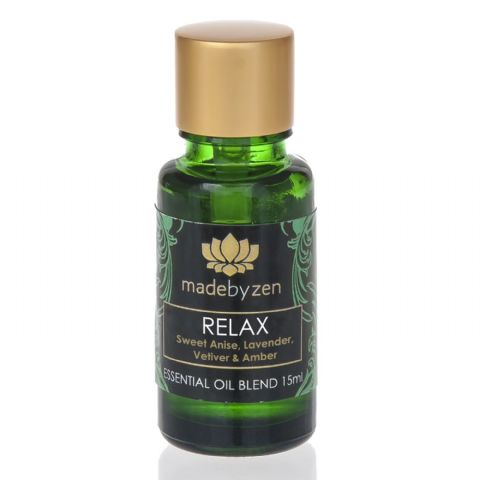 RELAX Purity Range - Scented Essential Oil Blend Made By Zen 15ml